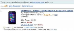 Amazon product recommendations algorithm