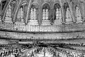 British museum reading room etching