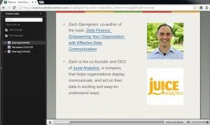 Zach Gemignani UW Data Science webinar