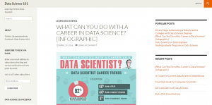 data science blog: Data Science 101
